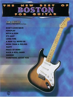 The New Best Of Boston For Guitar (TAB) Books | Lyrics, Guitar Tab