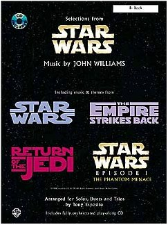 Selections From Star Wars: C Instruments Books and CDs | C Instruments