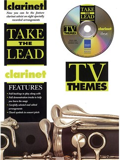 Take The Lead: TV Themes (Clarinet) Books and CDs | Clarinet