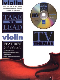Take The Lead - TV Themes (Violin) Books and CDs | Violin