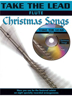 Take The Lead: Christmas Songs (Flute) Books and CDs | Flute