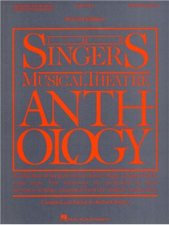 The Singers Musical Theatre Anthology: Volume One (Baritone Or Bass) - Revised Edition Bog | Bass, Baryton Stemme, Klaverakkompagnement