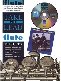 Take The Lead: The Blues Brothers (Flute) Books and CDs | Flute