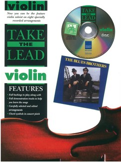 Take The Lead: Blues Brothers (Violin) Books and CDs | Violin