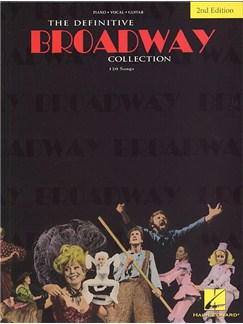 The Definitive Broadway Collection Books | Piano, Voice, Guitar