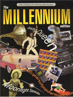 100 Years Popular Music: The Millennium Edition Books | Piano, Voice and Guitar Chord Boxes