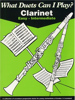 What Duets Can I Play? Clarinet Easy-Intermediate Books | Clarinet