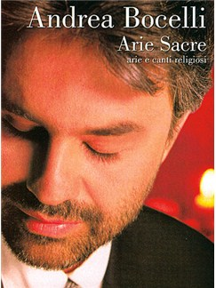 Andrea Bocelli: Arie Sacre Books | Piano and Voice