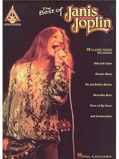The Best Of Janis Joplin: Guitar Recorded Versions Books | Guitar Tab, with chord symbols