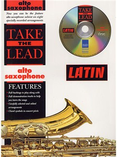 Take The Lead: Latin (Alto Saxophone) Books and CDs | Alto Saxophone