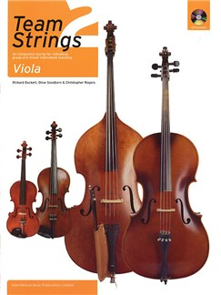 Team Strings 2: Viola With CD Books and CDs | Viola