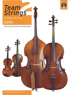Team Strings 2: Cello (Book and CD) Books and CDs | Cello