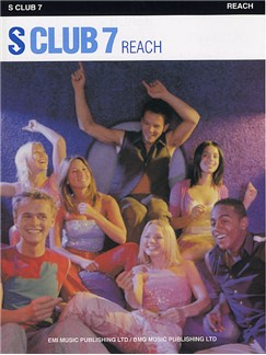 S Club 7: Reach Books | Piano, Voice, Guitar
