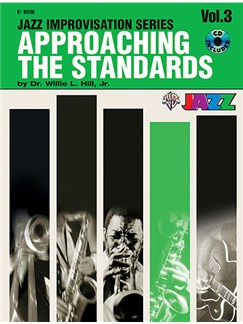 Approaching The Standards - Volume 3 (Book And CD) Books and CDs | E Flat Instruments