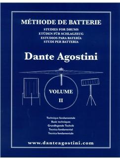Dante Agostini: Méthode De Batterie: Technique Fondamentale - Volume 2 Books | Drums