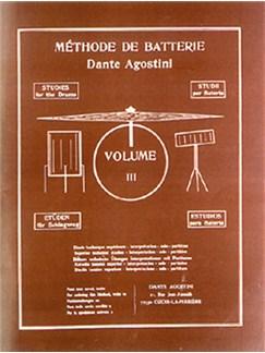Dante Agostini: Methode De Batterie: Techniques Supérieures - Volume 3 Books | Drums