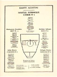 Solfege Rythmique Cahier 4 Books | Drums