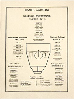 Solfege Rythmique Cahier 5 Books | Drums