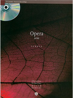 Opera Arie Tenore Pv Book/Cd Books and CDs | Piano, Voice
