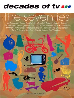 Decades Of TV... The Seventies Books | Piano, Voice and Guitar