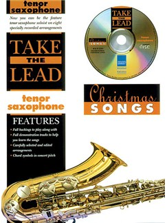Take The Lead: Christmas Songs (Tenor Saxophone) Books and CDs | Tenor Saxophone