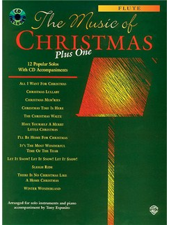 The Music Of Christmas Plus One Books and CDs | Flute