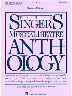 The Singers Musical Theatre Anthology: Volume Two (Soprano) Books   Soprano and Piano