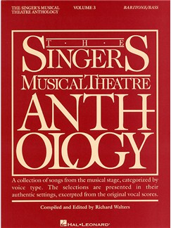 The Singers Musical Theatre Anthology: Volume Three (Baritone Or Bass) Books | Baritone (Bass), Piano