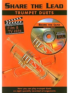 Share The Lead: Film & Tv Hits (Trumpet Duets) Books and CDs | Trumpet