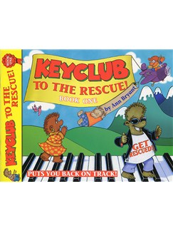 Ann Bryant: Keyclub To The Rescue - Book One Books | Piano