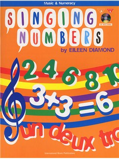 Singing Numbers Books and CDs | Piano, Voice, Guitar
