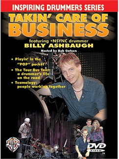 Takin' Care Of Business DVD DVDs / Videos   Drums