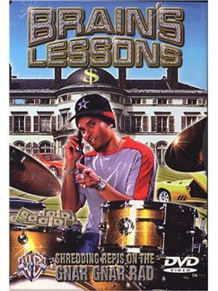 Brain's Lessons Shredding Repis On The Gnar Gnar Rad (DVD) DVDs / Videos | Drums