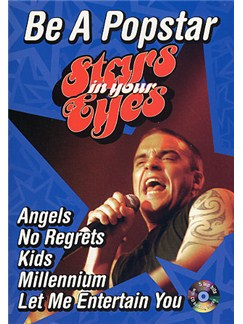 Stars In Your Eyes: Be A Popstar Robbie Williams Books and CDs | Melody, Lyrics and Chords