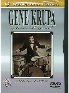 Gene Krupa: Jazz Legend (DVD) DVDs / Videos | Drums