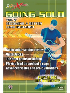 SongXpress Going Solo: Becoming A Better Lead Guitarist Volume 2 DVD DVDs / Videos | Guitar