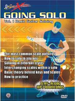 SongXpress Going Solo: Basic Guitar Soloing Volume 1 DVD DVDs / Videos | Guitar