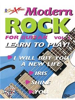 Songxpress: Modern Rock 1 (DVD) DVDs / Videos | Guitar