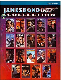 James Bond 007 Collection: Alto Saxophone Books and CDs | Alto Saxophone