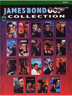 James Bond 007 Collection: Trumpet Books and CDs | Trumpet