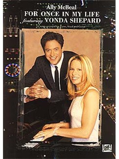 Ally McBeal: For Once In My Life Featuring Vonda Shepard Books | Piano, Vocal & Guitar (with Chord Boxes)