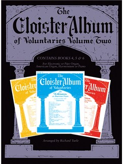 The Cloister Album Of Voluntaries - Volume Two Books | Organ