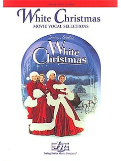 White Christmas - Movie Vocal Selections Books | Piano, Voice and Guitar Chord Boxes