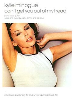 Kylie Minogue: Can't Get You Out Of My Head Books | Piano, Voice and Guitar chord boxes