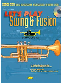 Let's Play Swing And Fusion (Book/CD) Books and CDs | Brass Instruments