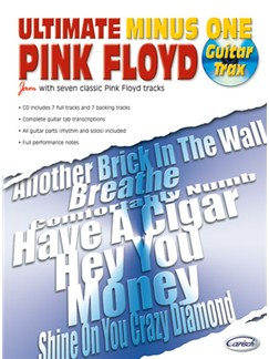 Ultimate Minus One: Pink Floyd Books and CDs | Guitar Tab (with Chord Symbols)