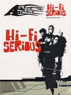 A: Hi-Fi Serious Books | Guitar Tab, with chord symbols
