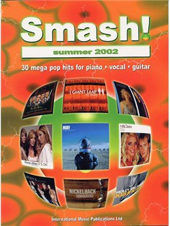 Smash! Summer 2002 Books | Piano and vocal with guitar chord symbols and boxes