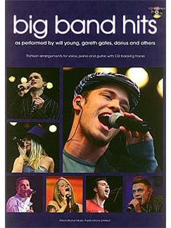Pop Idols Big Band Hits Books | Piano and vocal with guitar chord symbols and boxes