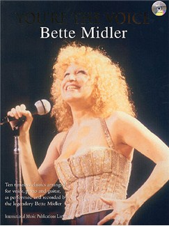 You're The Voice: Bette Midler Books and CDs | Piano, Voice and Guitar